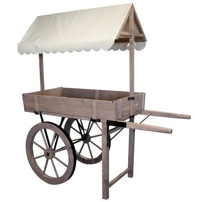 Chariot rustique