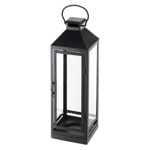 Grande lanterne noire