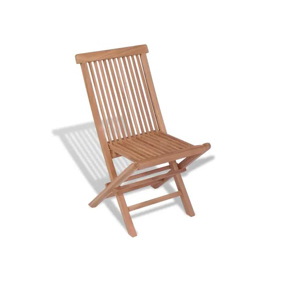 chaise pliante bois exotique