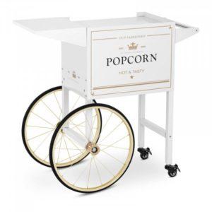 Chariot blanc popcorn