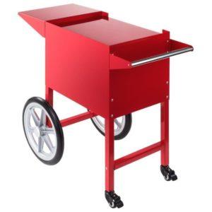 Chariot machine popcorn rouge
