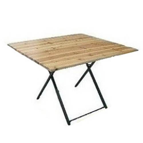 Table carrée guinguette chic