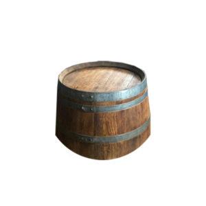 demi table basse barrique
