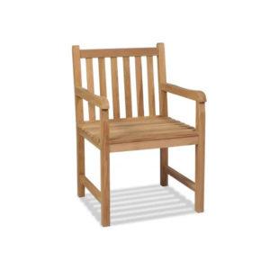 fauteuil bois exotique
