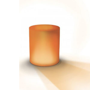 Pot rond lumineux