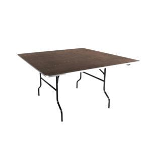 Table carrée traiteur