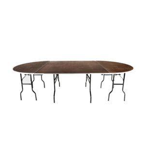 table ovale traiteur